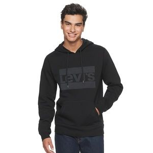 Levi's Logo Graphic Pull-Over Hoodie nwt